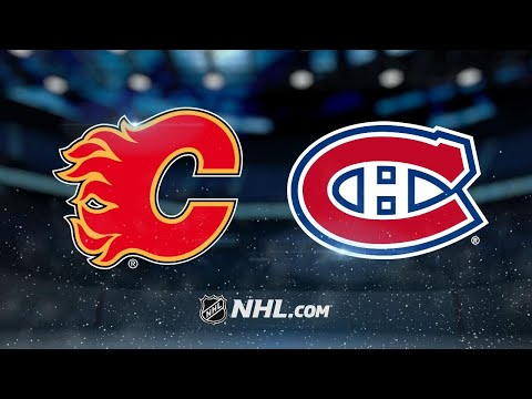 Monahan scores second goal in OT as Flames edge Habs