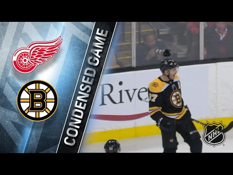 12/23/17 Condensed Game: Red Wings @ Bruins