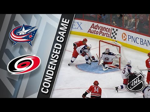 12/16/17 Condensed Game: Blue Jackets @ Hurricanes