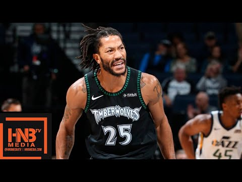 Minnesota Timberwolves vs Utah Jazz Full Game Highlights | 10.31.2018, NBA Season