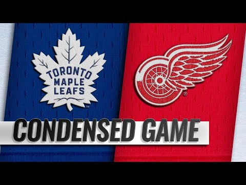 10/11/18 Condensed Game: Maple Leafs @ Red Wings