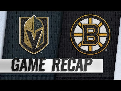 Pastrnak, Halak power Bruins past Golden Knights