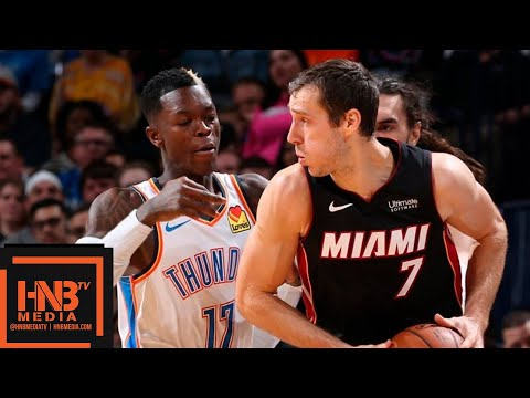 Oklahoma City Thunder vs Miami Heat Full Game Highlights | March 18, 2018-19 NBA Season