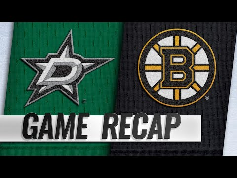 Marchand scores OT winner to lead Bruins past Stars
