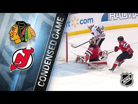 12/23/17 Condensed Game: Blackhawks @ Devils
