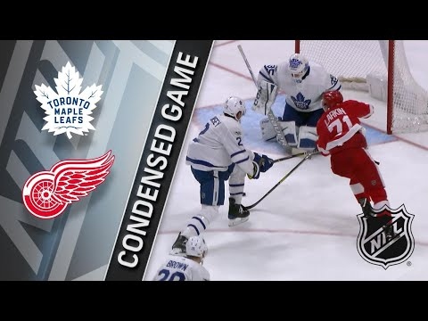 12/15/17 Condensed Game: Maple Leafs @ Red Wings