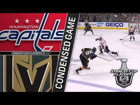 05/30/18 Cup Final, Gm2: Capitals @ Golden Knights