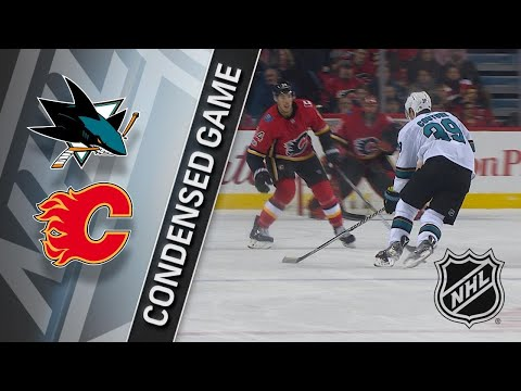 12/14/17 Condensed Game: Sharks @ Flames