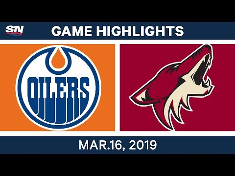 NHL Highlights | Oilers vs Coyotes – Mar 16, 2019