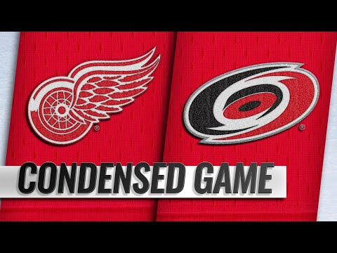 11/10/18 Condensed Game: Red Wings @ Hurricanes