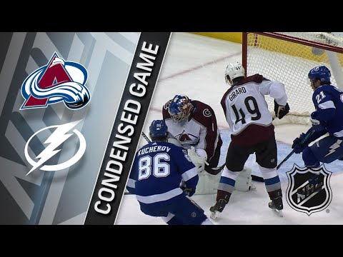 12/07/17 Condensed Game: Avalanche @ Lightning