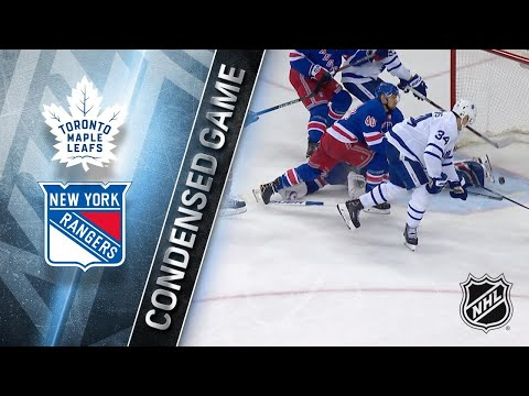 12/23/17 Condensed Game: Maple Leafs @ Rangers