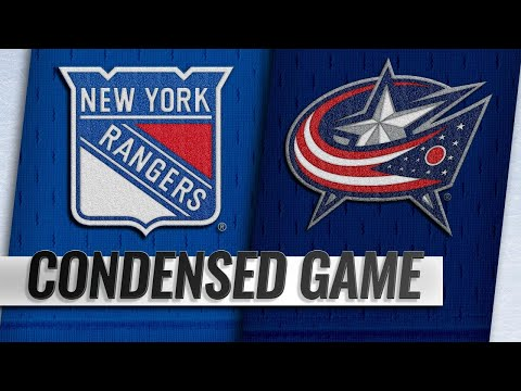 11/10/18 Condensed Game: Rangers @ Blue Jackets